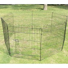 "48"" Tall 8-Panel Light Duty Pet Playpen"