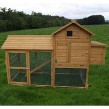 Deluxe Portable Backyard Chicken Coop