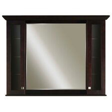 "Manhattan Matching Medicine Cabinet with Mirror for 48"" Vanity"