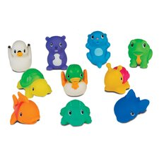 Squirting Sea Buddies 10 Piece Set