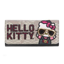 Hello Kitty World Traveler Tri-Fold Wallet