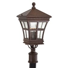 Mission Bay Outdoor Post Mount Lantern