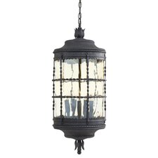 Mallorca 5 Light Indoor/Outdoor Chain Hanging Lantern