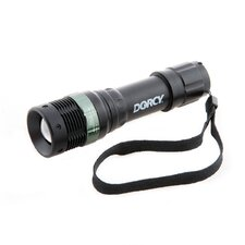 Weather Resistant Optic Lens LED Flashlight