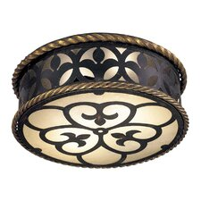 Montparnasse 2 Light Flush Mount