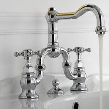 Canterbury Widespread Bathroom Faucet with Double Cross Handles