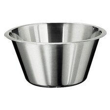 Flat Bottom Mixing Bowl in Stainless Steel