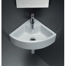 Area Boutique Ice Corner Ceramic Bathroom Sink
