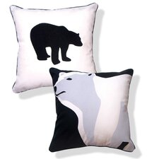 Animal Instinct ReversibleTotally Polar Bear Pillow