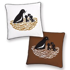 Animal Instinct Bird Reversible Pillow