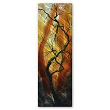 Towering Trees Metal Wall Decor