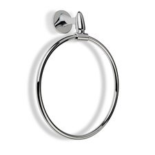 Holiday Wall Mounted Circle Towel Ring in Chrome