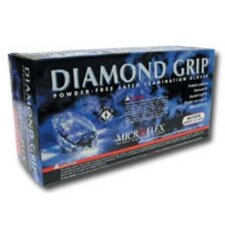 Glove Diamond Grip Medium 100 Box