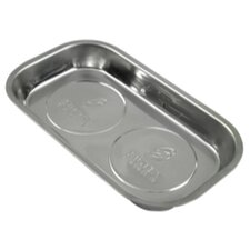 Parts Dish Magnetic 9-1/2X5-1/2In. Stainless Steel