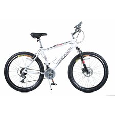 Men's White Knight Alloy Frame All-Terrain Mountain Bike