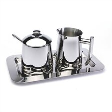 Frieling Tray for Sugar and Creamer Set