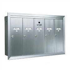 1250 Vertical USPS Wall Mailbox Unit