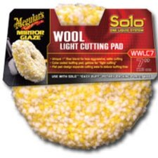Solo Wool Light Cutting Pad 7""