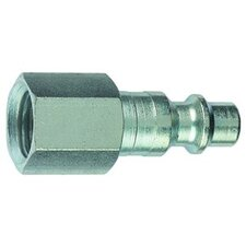 1/4 Type D Plug - Female