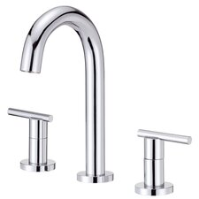 Parma Widespread Bathroom Sink Faucet with Double Lever Handles
