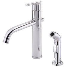Parma Single Handle Kitchen Faucet with Spray
