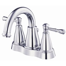 Eastham Centerset Bathroom Sink Faucet with Double Lever Handles
