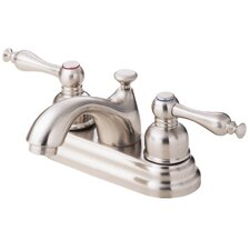 Sheridan Two Handle Centerset Bathroom Faucet