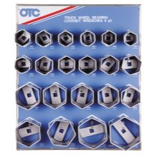 Display Bearing Locknut Socket 21Pc 6 Pt