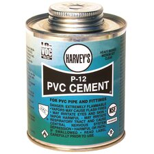 P-12 Heavy Bodied Clear PVC Cement