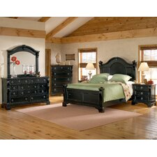 Heirloom Distressed Four Poster Bedroom Collection