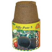 Round Pots (Set of 8)