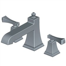 Exhibit Double Handle Deck Mount Roman Tub Faucet Trim