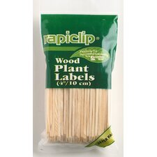 Rapiclip Wood Plant Labels