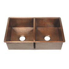 "32"" x 20"" Double Bowl Kitchen Sink"