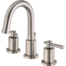 Ulm Widespread Bathroom Sink Faucet with Double Lever Handles