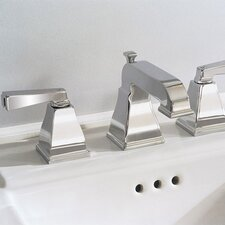 Town Square Widespread Bathroom Faucet with Double Lever Handles