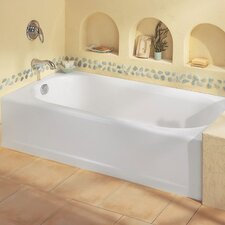 "Princeton 60"" x 30"" Recess Bathtub with Integral Overflow"