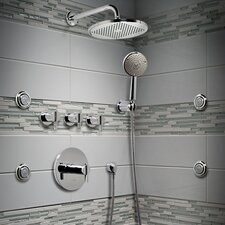 Berwick Central Thermostatic Shower Faucet Trim with Lever Handles
