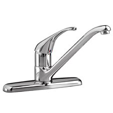 Reliant+ Single Handle Centerset kitchenFaucet with Less Spray