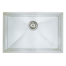 "Precision 25"" x 18"" Single Bowl Undermount Kitchen Sink"
