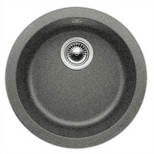 "Rondo 17.69"" x 17.69"" Round Drop-In Bar Sink"