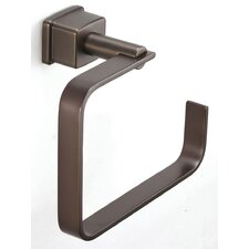 Mainz Square Mount Towel Ring