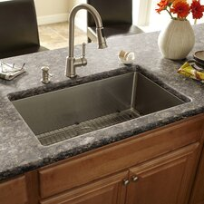 "30"" x 17"" Single Bowl Kitchen Sink"