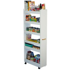 White Thin Man Pantry Cabinet