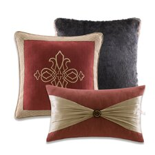 Stonebridge Cotton / Polyester Decorative Pillow (Set of 3)