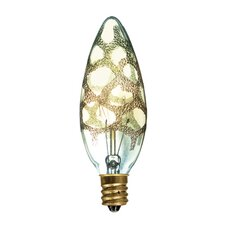 25W B10 Incandescent Chandelier Candelabra Base Bulb