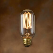40W T14 Nostalgic Incandescent Medium Base Bulb