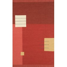 Nouveau Light Red Rug
