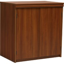 2-Door Storage Cabinet in Expert Plum