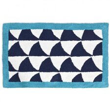 Fish Scales Bath Rug